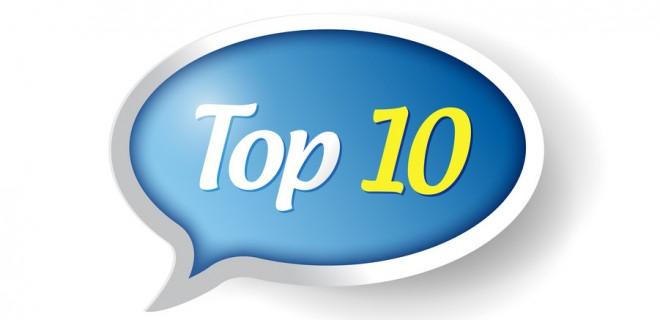top 10 message bubble illustration